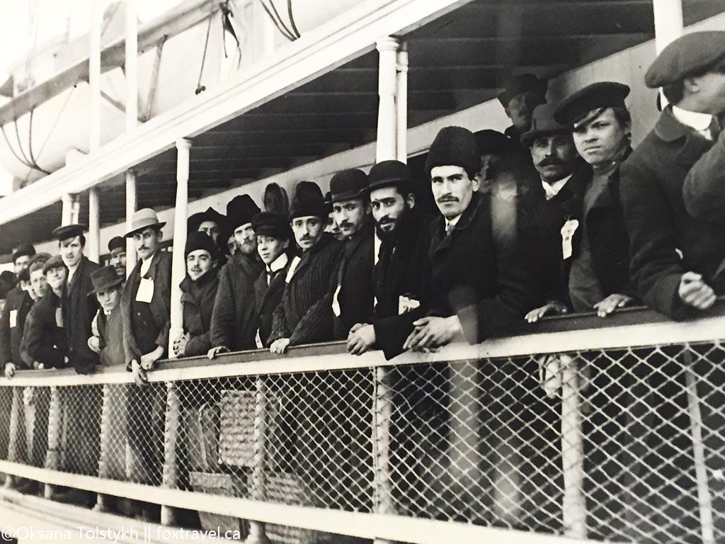 Первые иммигранты