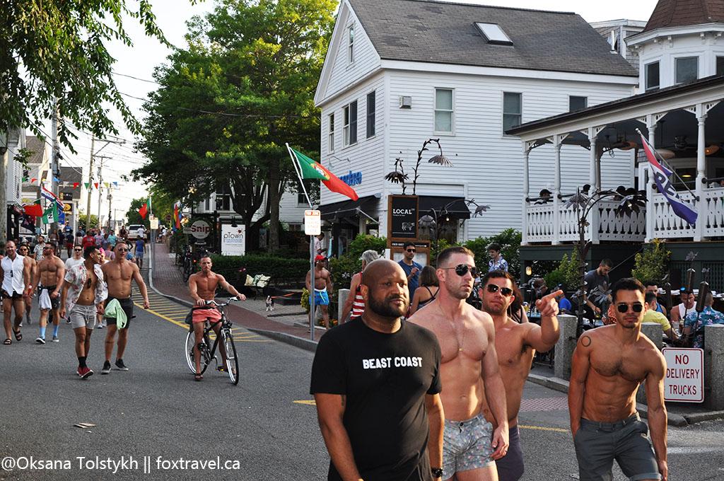 Провинстаун - это место отдыха американского гей сообщества