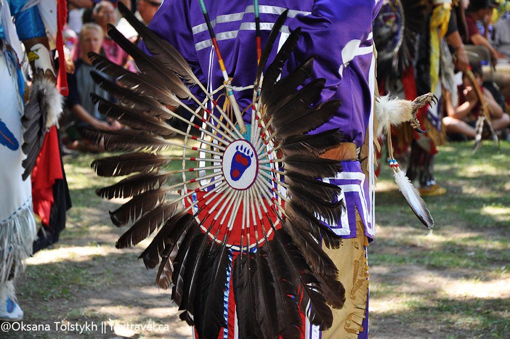 Перья индейцев